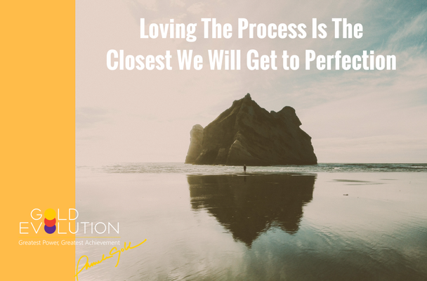 Loving the process is the closest thing we will ever have to perfection.